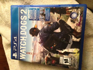 Watchdogs 2 like new condition