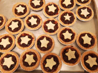 Home Made Mincemeat Tarts