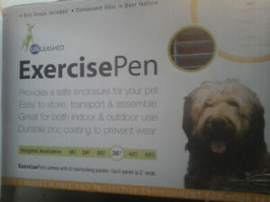 Dog Exercise Pens- NEW IN BOXES
