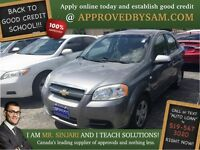 "Icelandic Misty Gray Aveo - TEXT ""AUTO LOAN"" TO 519 567 3020"