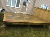 TOP Deck, Decking; We supply and install.Fixing, TG plywood re-s