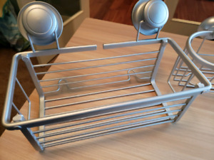 Suction cup Shower caddy's