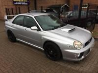 Subaru Impreza 2.0 Turbo WRX a few Sti/subtle mods
