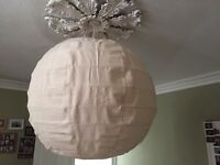 Woven Cotton Lampshade