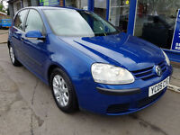 2005 VOLKSWAGEN GOLF 1.9 TDI SE 5 DOOR MANUAL 76K FULL HISTORY