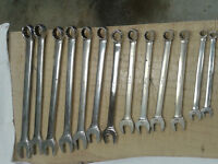 "Snap On ""OEX"" Combination Wrenches"
