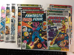 FANTASTIC FOUR comics run of 163 issues from 201-355 $395, OBO