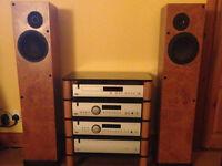 Arcam CD, DVD, Amp, PreAmp system + ProAc Response 2.5 200w Speakers + Granite Hifi unit + leads