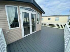 NEW ARRIVAL ALERT HOLIDAY HOME WITH DECKING NOW FOR SALE AT BUNN LEISURE
