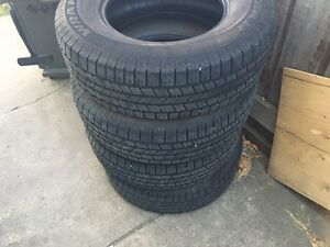 265/70r17 tires about 50-60 % left