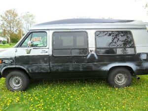 95 chev g20 passenger van