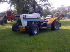 Cub Cadet modified racing lawn tractor
