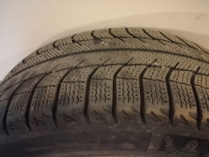 4 TIRES ON RIMS FOR SALES !