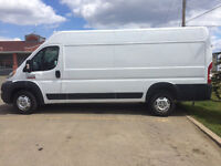 Large van and driver available