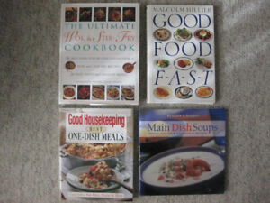Cook books for sale - moving