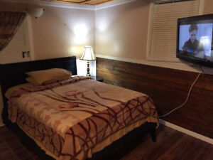 All Furnished Room Available For Short or Long Term, 180$/week !