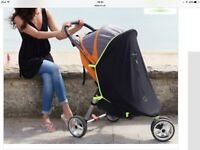 Pram/stroller sun shade - Barely used - In excellent condition