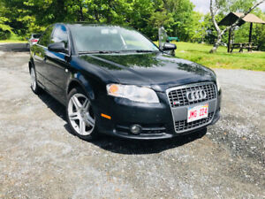 Audi S-line A4  QUATTRO with engine software upgrades