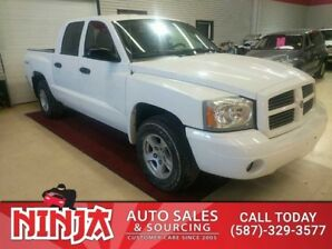 2006 Dodge Dakota SLT 4.7 Crew 4x4  Best 4.7 Crew 4x4 Safetied Low Km