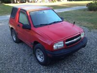 1999 Chevrolet Tracker 4 x 4 Hard Top    - Aldergrove