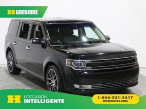 2017 Ford Flex Limited 7PLACES CUIR TOIT NAV BLUETOOTH CAMERA RE