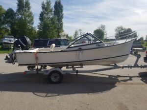 19ft Seabreeze with 90hp. 2010 boat and motor.