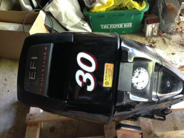 Used 2007 Mercury 30 hp EFI 4 stroke