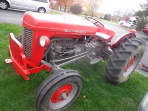 Massey 35 package tractor with plow