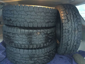 Nokia Rotiiva AT 265/70 R17 x4 Tires for sale