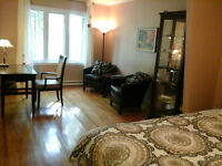 furniish bedroom rent by day! near metro ,downtown,free parking