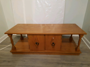 Coffee Table Set - Solid Wood