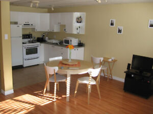 3 1/2 c/e tout meublé, bas duplex ensoleillé, bien situé Lasalle
