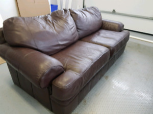 Couch and oversized chair/ ottoman combo