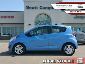 2015 Chevrolet Spark 1LT  - local - trade-in - sk tax paid -  Bl