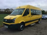 2012 Volkswagen Crafter CR50 TDI L H-R P-V BUS- LWB - 17 SEATS - IVA TESTED - NO