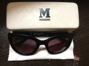 Missoni designer sunglasses - cat eye