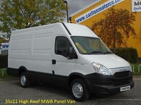 2012/12 Iveco Daily 35s11 H2 Mwb High Roof panel van 3300wb 2.3Hpi RWD 3300wb