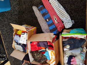 BOYS size 3-9 months clothing.