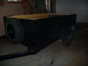 HEAVY DUTY UTILITY TRAILER  8 FT 1 in. X 56 INCHES WIDE