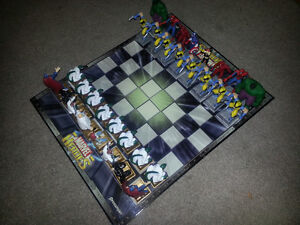 Marvel Heroes Chess Set-VERY RARE. MINT CONDITION ONLY 100$..... London Ontario image 2