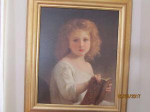 Oil painting/ peinture à l'huile