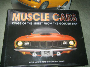 NEW: Muscle Cars & Atlas of Automobiles - Coffee Table Books