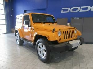 2013 Jeep Wrangler Sahara  w/ Leather
