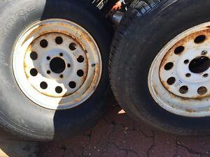 Trailer Tires and Wheels Strathcona County Edmonton Area image 1