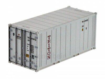 Kombimodell 88830.02 20' Fuss Kühl-Container Reefer TRITON weiß H0 1/87 NEU+OVP