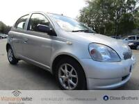 TOYOTA YARIS CDX VVT-I, Silver, Auto, Petrol, 2002