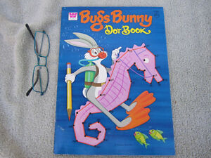 1973 Bugs Bunny Dot Book by Whitman Kitchener / Waterloo Kitchener Area image 2