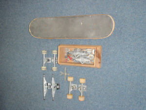 skateboard WITH LOTS OF EXTRAS