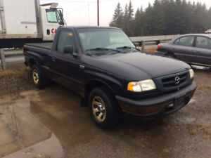 For Parts ONLY!  2002 Mazda B2300 Pickup truck, 2wd, regular cab