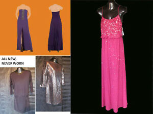 Dress for weddings, prom, formal occasions, designer gown, NEW